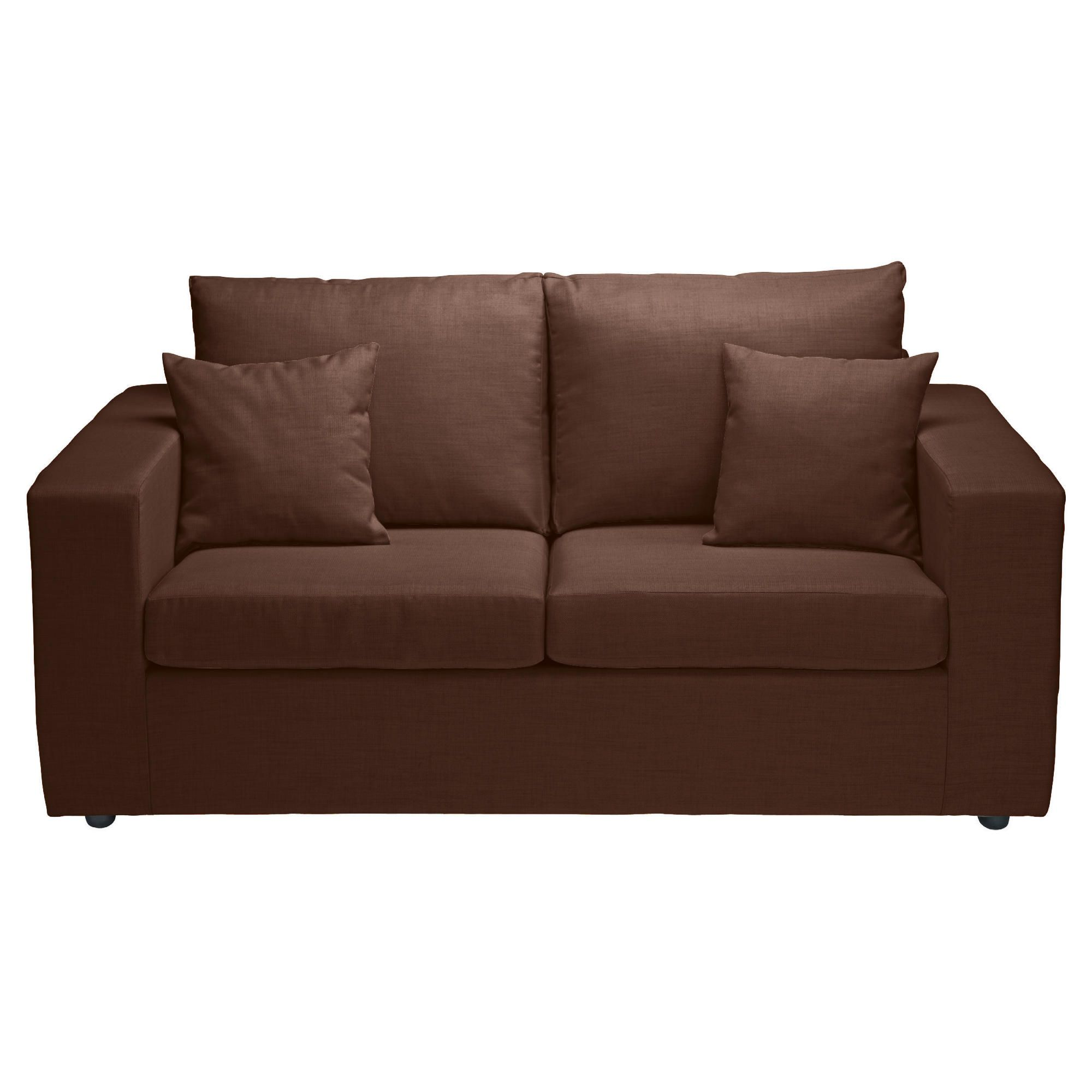 Maison Fabric Sofa Bed, Chocolate at Tesco Direct