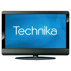 Technika 23-231BG 23 inch Widescreen HD Ready 1080p LCD TV DVD Combi  & USB Player with Freeview Titanium