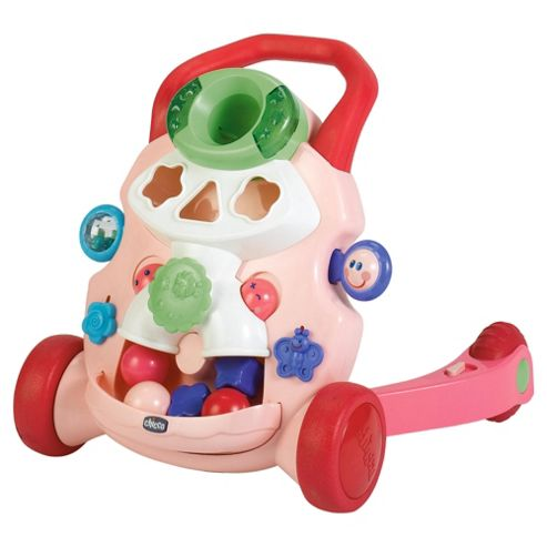 Chicco Baby Steps Walker Pink