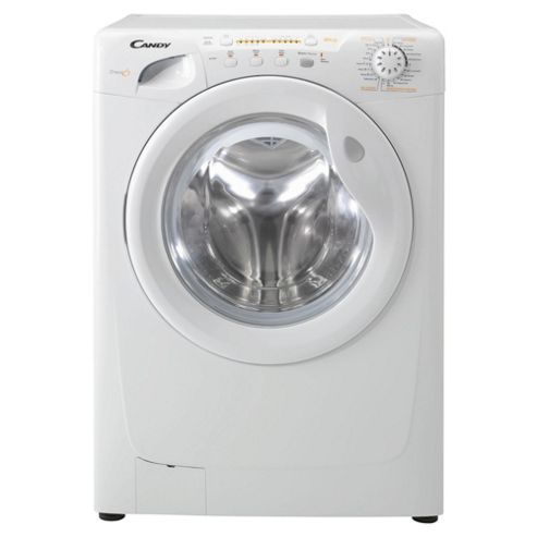 Candy GO282 Washing Machine, 8kg Wash Load, 1200 RPM Spin, B Energy Rating. White