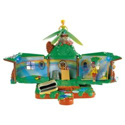 Disney Fairies Fairy House Playset With Flying Tink