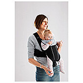 BABYBJORN Baby Carrier Active, Black/Silver, Cotton Mix