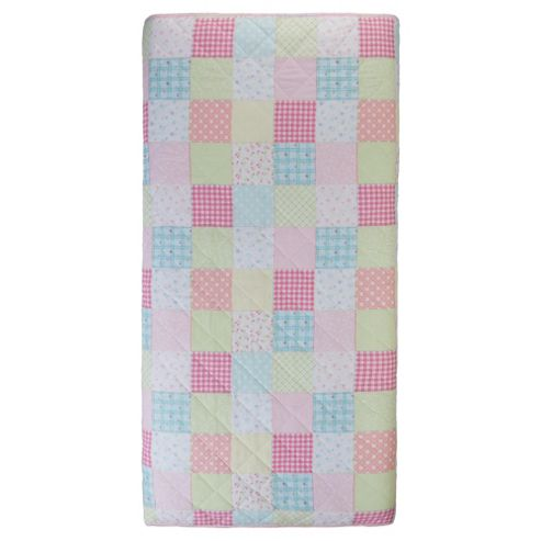 Tesco Kids Gingham Patchwork Quilt