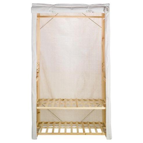 Double Wardrobe with Bottom Shelf