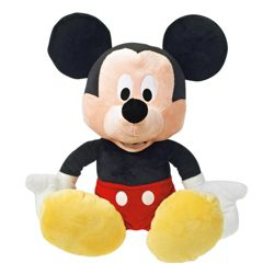 Minnie or Mickey Mouse Giant Soft Toy
