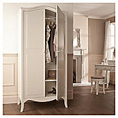 Lille 2 Door Wardrobe, Ivory