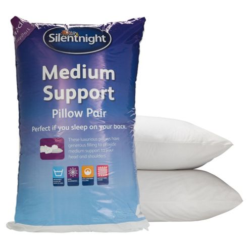 Silentnight Tesco Exclusive Microfibre Medium Pillow
