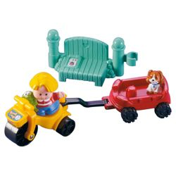 Fisher-Price World Of Little People Vehicle - Only One Supplied