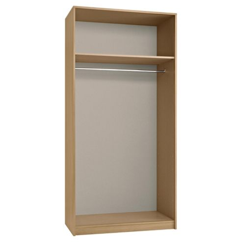 Modular Double Wardrobe Frame, Oak-Effect