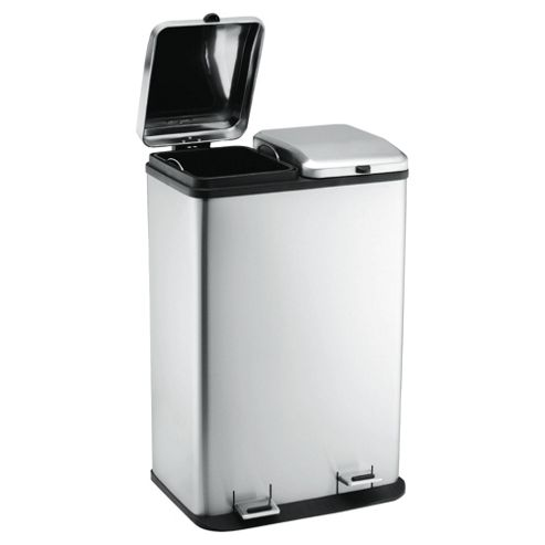 60L duo recycling bin
