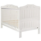 Obaby Lisa Cot Bed, White