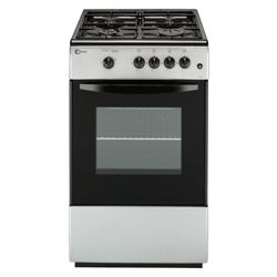 Flavel FSG51SP Silver Single FSD Gas Cooker