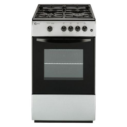 Flavel FSG51SP Silver Single FSD Gas Cooker