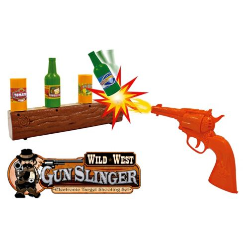 Wild West Gunslinger Target Shooting Game