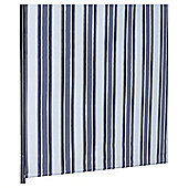 Stripe Blackout Roller Blind 90X160Cm Black
