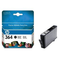 HP 364 Printer Ink Cartridge - Black (CB317EE)