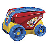 Mega Bloks Fill & Dump Wagon - Primary Colours