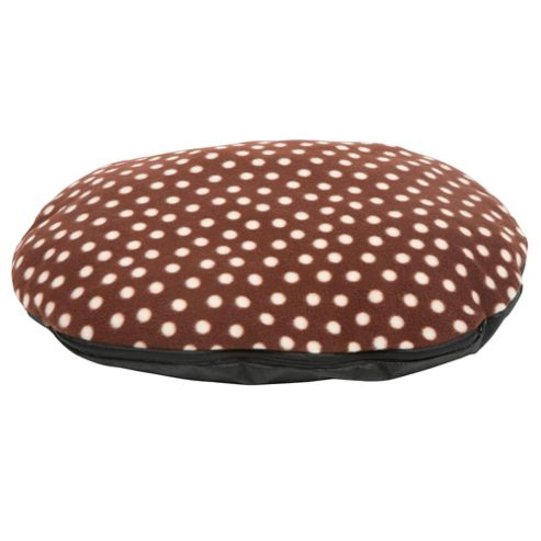 Fleece pillow pet bed medium