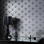 Superfresco Ennis Wallpaper - Charcoal