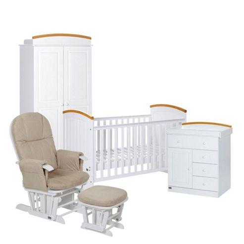 Tutti Bambini Barcelona 4 Piece Nursery Roomset
