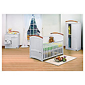 Tutti Bambini Barcelona 4 Piece Room Set, with Free Home Assembly