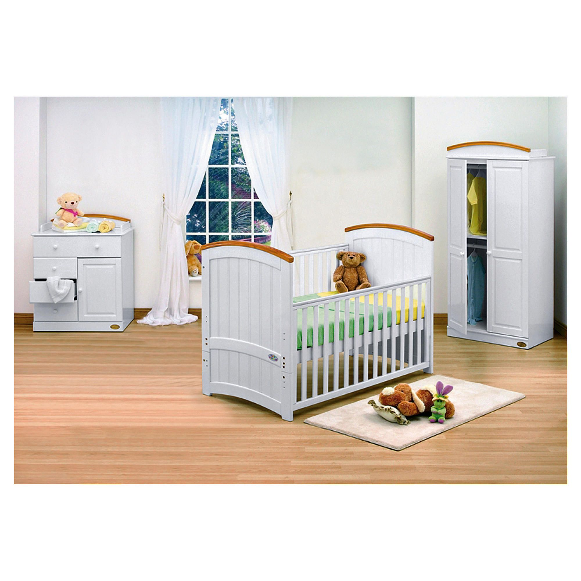 Tutti Bambini Barcelona 4 Piece Room Set, with Free Home Assembly at Tesco Direct