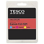 Tesco C143 Printer Ink Cartridge - Tri-Colour