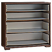 Modular 4 Drawer Chest Frame, Walnut-Effect