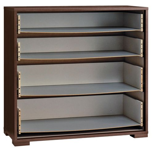 Adria 4 Drawer Chest Frame, Walnut-Effect