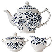 Johnson Bros Devon Cottage Teapot Set.