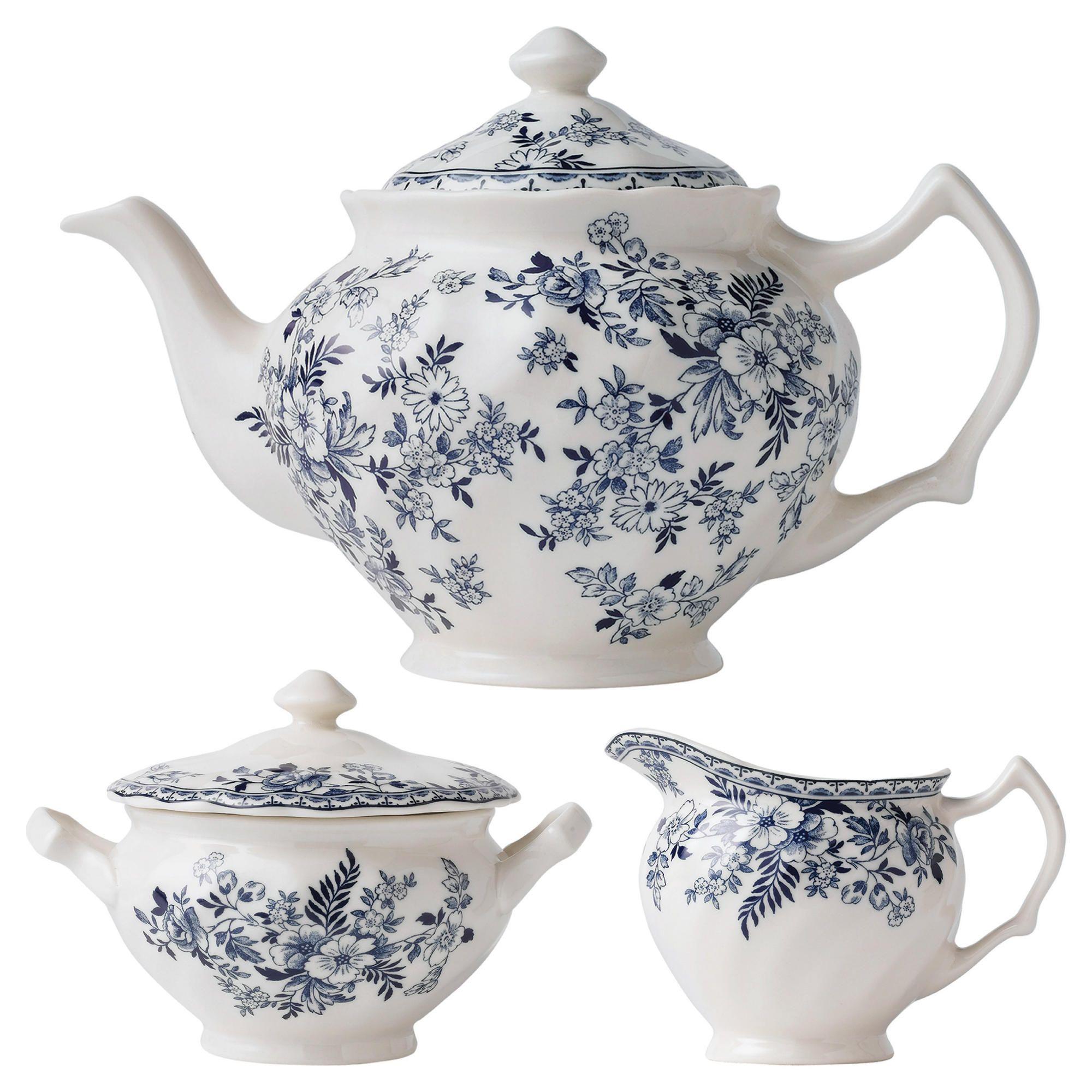 Johnson Bros Devon Cottage Teapot Set Shop For Afternoon