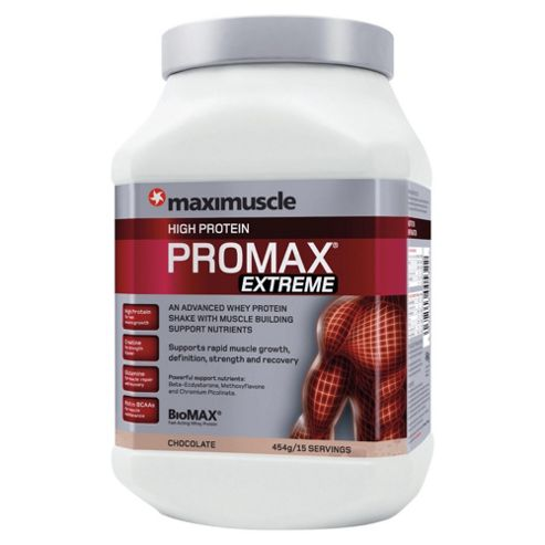 Maximuscle Promax extreme, chocolate 454g