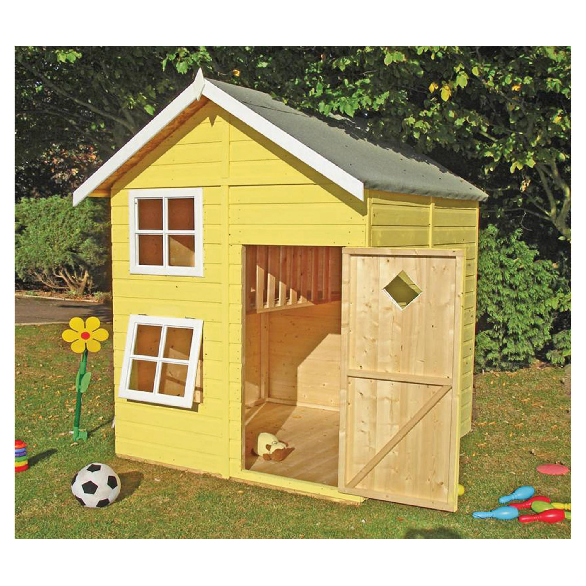 Finewood Croft Playhouse including Installation at Tesco Direct