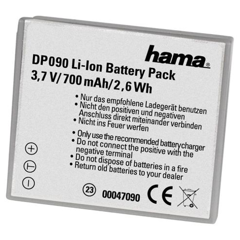 Hama Li-Ion Battery DP 090 suitable for Canon (Equivalent to Canon NB-4L battery)