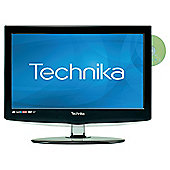 "Technika 19-228 19"" Widescreen HD Ready LCD TV DVD Combi with Freeview & USB Player"