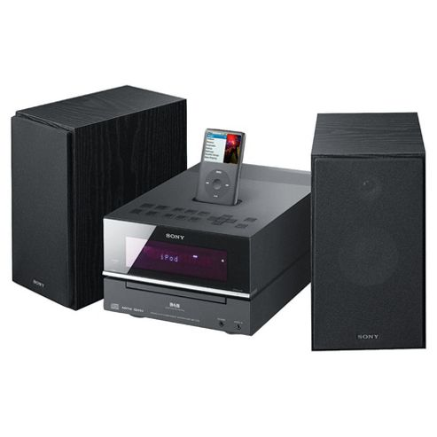 Sony BX77 DAB Hi-Fi with Dock Black