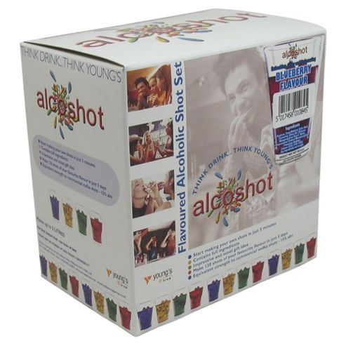 Alcoshot Refill Kit, Blueberry