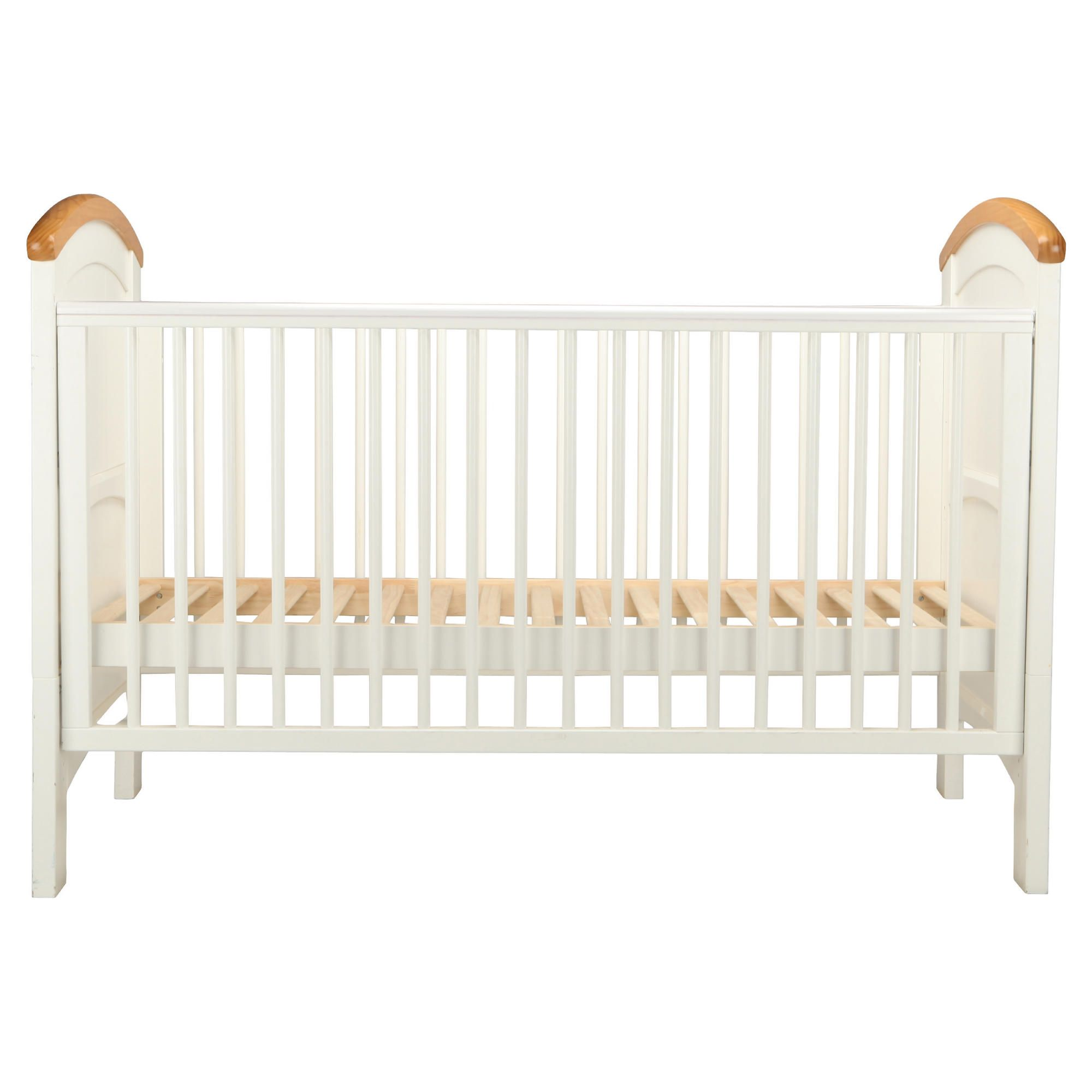 Cosatto Hogarth 3 in 1 Cot Bed, White & Oak at Tescos Direct