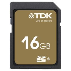 TDK SDHC Highspeed memory card Class 6 - 16GB