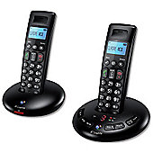 BT Graphite 2500 cordless Telephone with Answer Machine - Set of 2