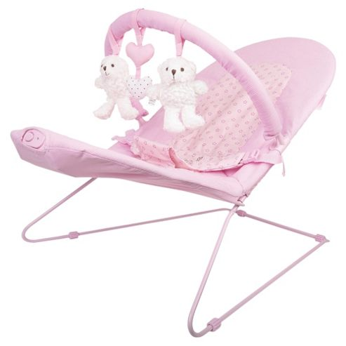 Obaby B is for Bear Vibrating Bouncer, Pink
