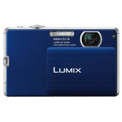 Panasonic FP3 - Blue (14MP - 4x Optical Zoom) 3 inch LCD