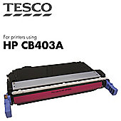 Tesco THPCB403A Magenta Laser Toner Cartridge (for HP CB403A/ HP 642A Magenta)