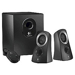 Logitech Z313 Speaker System - Black