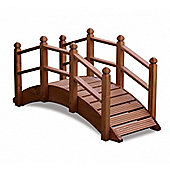 Oriental Wooden Garden Bridge