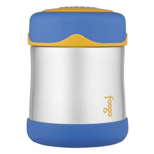 Thermos Foogo 290ml Insulated Stainless Steel Food Jar, Blue