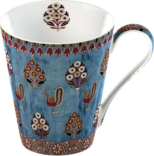 V&A Fine Bone China Mug In Gift Box - Gujarat