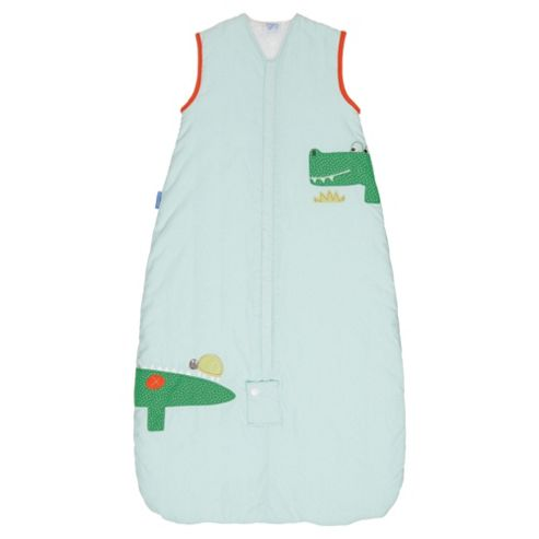 Grobag Baby Sleeping Bag, Crocodile Rock, 1 Tog 6-18 Months