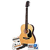 Martin Smith W-100 Acoustic Guitar Kit - Natural