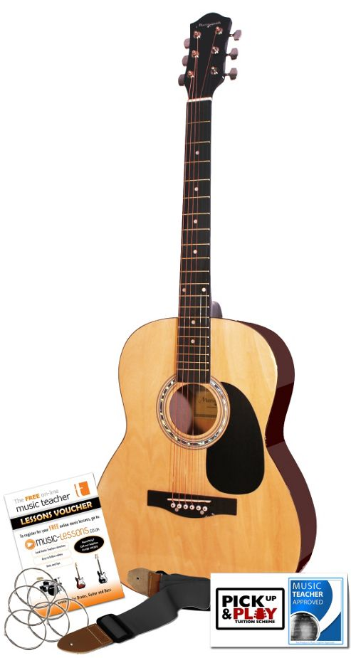 Martin Smith W-100 Acoustic Guitar Kit - Natural